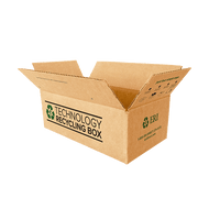 Small Electronics Recycling Box | Serialized