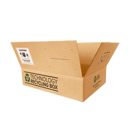 Medium Electronics Recycling Box | Serialized