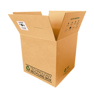Large Electronics Recycling Box | Serialized
