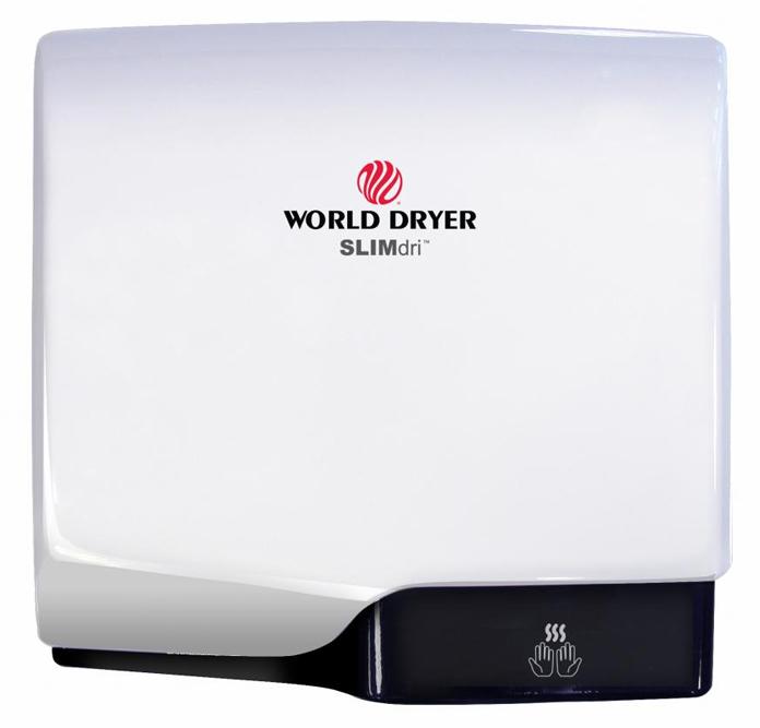 L-974 Slimdri Hand Dryer in white