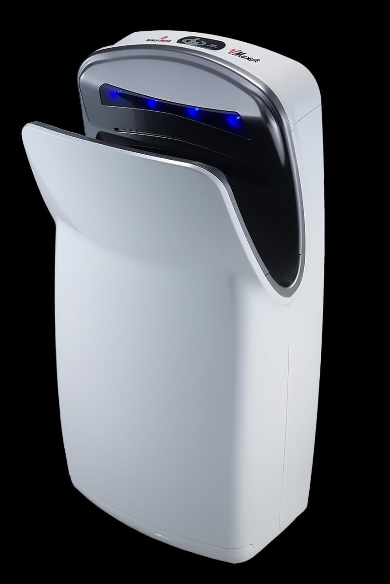 VMax hand dryer in white