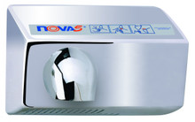 Automatic Nova 5 021299 and 022299 Aluminum Polished Chrome hand dryer by World Dryer