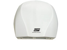 World Dryer Electric-Aire LN-974 Aluminum White hand dryer