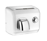 American Dryer - Cover - DR-N Series Steel White Enamel Finish Cover - Push Button