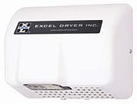 Excel Dryer Cast Hands Off HO-IW Automatic White 120 Volt Hand Dryer
