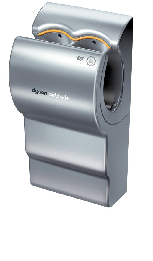 dyson ab14 airblade db grey hand dryer by hand dryer supply. Black Bedroom Furniture Sets. Home Design Ideas