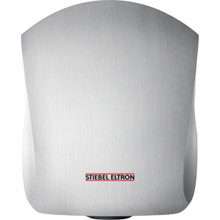 Ultronic High Speed Hand Dryer from Stiebel Eltron - Aluminum with Brushed Stainless Steel Finish - Automatic Touchless Surface Mounted Ultra Fast Hand Dryer