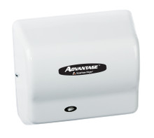 AD90-M Advantage hand dryer by American Dryer in Steel White Epoxy