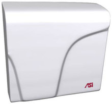 ASI Profile 0165 Hand Dryer is white, with Universal Voltage and is ADA compliant.
