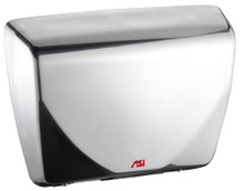 ASI Roval 0185-92 Hand Dryer has a stainless steel cover with a bright finish, has Universal Voltage and is ADA compliant.