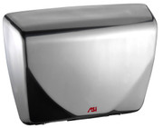 ASI Roval 0185-93 Hand Dryer has a stainless steel cover with a satin or brushed finish, has Universal Voltage and is ADA compliant.