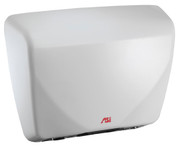 ASI Roval 0184 Hand Dryer is 277V, has a white steel cover and is ADA compliant.