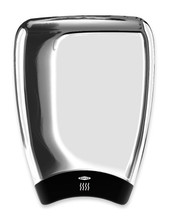 Bobrick B-7188 Hand Dryer has a chrome aluminum cover. TerraDry is high speed and ADA compliant with its modular design.
