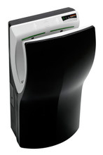 Black M14AB-UL Dualflow Plus high speed hand dryer by Saniflow Corp