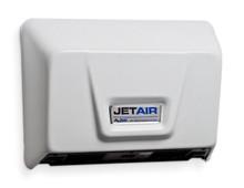 AJW U1511EA JetAir White Low Profile ADA Universal Voltage Hand Dryer