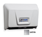AJW U1511EA-SF Jet Air Hand Dryer Satin Stainless Steel ADA Universal Voltage Hand Dryer