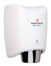 World Dryer SMARTdri K-975 Steel White automatic hand dryer