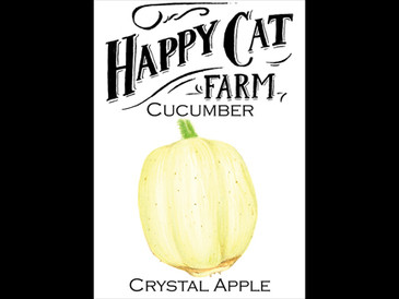 Crystal Apple White Spine Cucumber