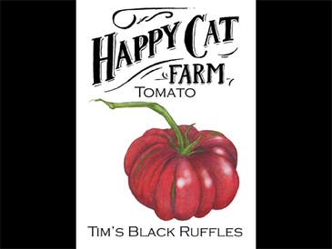 Tim's Black Ruffles