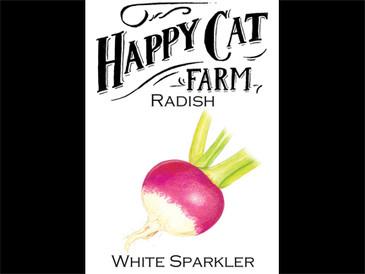 Sparkler Radish A.K.A 'White Tip'