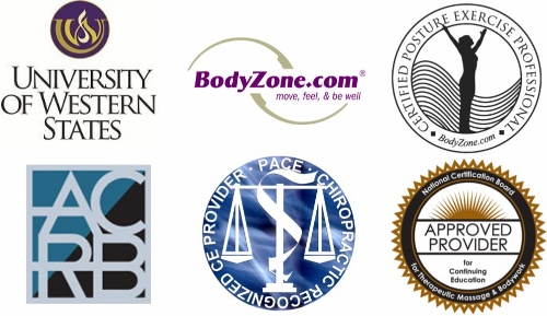 ce approved courses chiropractor personal trainer cpep massage therapist physical therapist dacrb acrb ncbtmb
