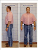 Posture Pictures in front of posture grid makes it easy to assess and explain posture.