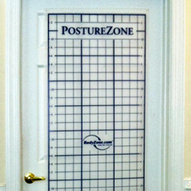 Postural Analysis Grid Door Mount Space Saver