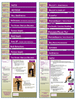 Individual Posture Exercise Handouts for patients / clients