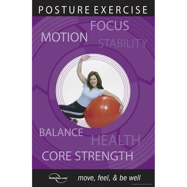 Posture Exercise Poster