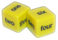 Number Word Dice