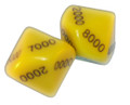 10 sided Thousands Dice