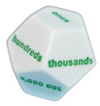 12-sided Place Value Dice