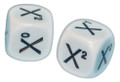 6 Sided Algebra Exponent Dice