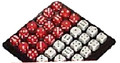 Stratedice Tray with 36 Dice