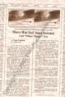 Fake Joke Newspaper Article SPACE COWS