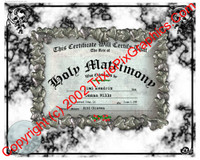 FC-10 Fake Marriage Certificate