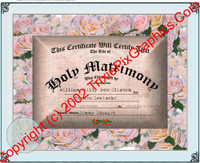 FC-11 Fake Marriage Certificate