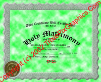 FC-15 Fake Marriage Certificate