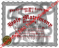 FC-18 Fake Marriage Certificate