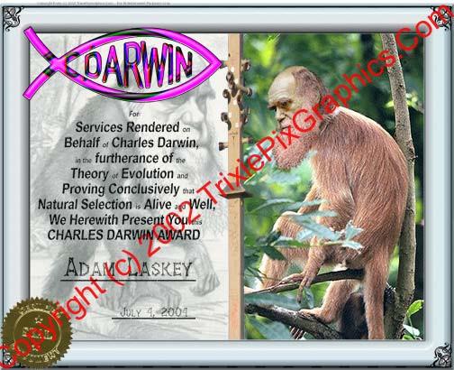 Charles Darwin Award