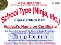 Fake Diplomas