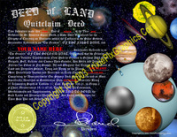 Planetary Land Deed