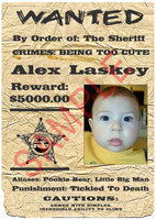 "Fake ""Wanted"" Poster, Old West Style"