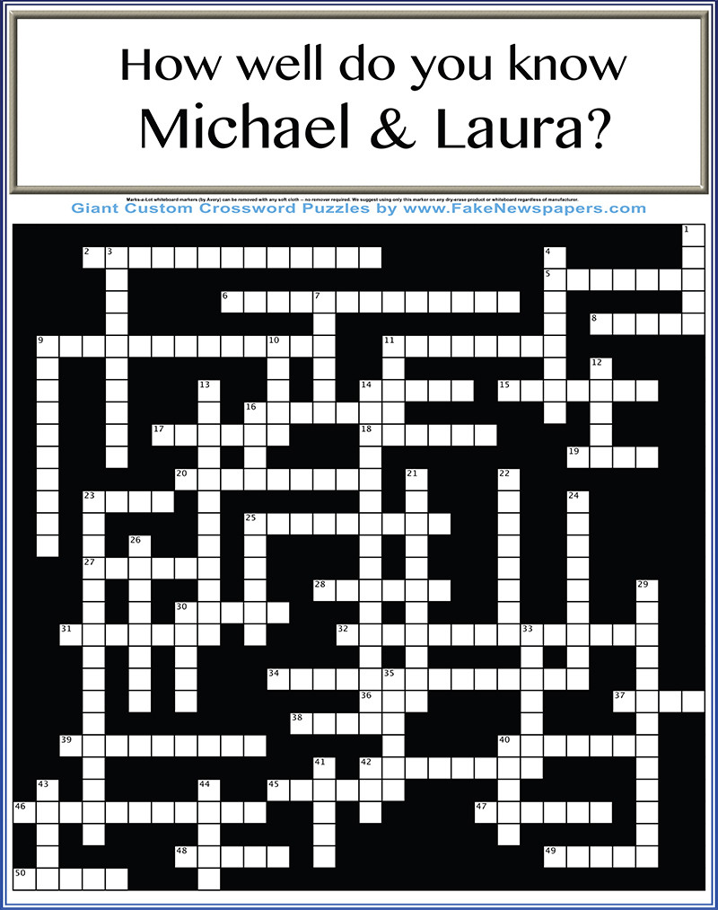 Poster Crossword.