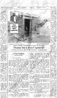 Fake Joke Newspaper Article OSAMA BIN LADEN CAPTURED