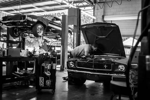 Mustangs, Etc. Service Department