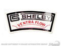 65-70 Shelby Ventra Flow Air Cleaner Decal