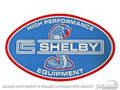 "10"" Shelby Hi-performance Equipment Decal"