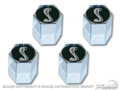 Tiffany Snake Valve Cap (set Of 4)