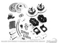 64-66 Disc Brake Conversion Kit with Master Cylinder, V8, OE Style